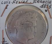 Монета Серебро Франция