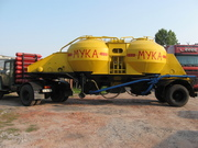 Продам муковоз К4АМГ (грузоподъемность 9 т) с тягачом ЗИЛ-130