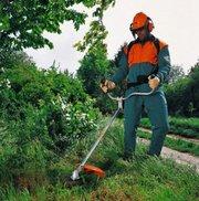 Покос травы,  стрижка газона,  очистка участка,  пилим деревья