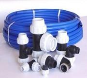 Трубы ПЭ(80, 100) и фитинги для наружного водоснабжения Полтава