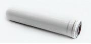 Удлинитель для коаксиальных дымовых труб,  длина 0, 5 м