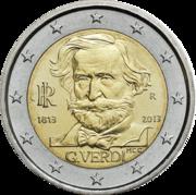 Памятные монеты 2 евро Италия