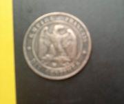 Продам французскую монету
