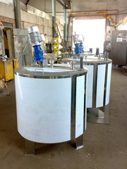 Ванна длительной пастеризации ВДП-1000,  Г6-ОПБ-1000 для соков