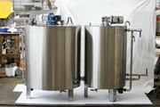 Ванна длительной пастеризации ВДП-600,  ОЗУ-600,  Г6-ОПА-600 для воды