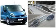 Релинги Renault Trafic пластиковое/металлическое  крепление