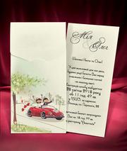 оригинальные свадебные приглашения