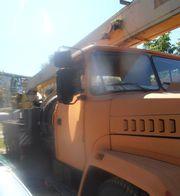Продаем автокран КС-55712 Броварчанец,  25 тонн,  КрАЗ 65053,  2008 г.в.