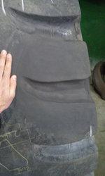 Ремонт грузовых шин. Восстановление грунтозацепа на новой/бу шине.