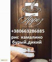 Продается Рис КамалиноКруглыйбурыйдикий и другие сорта
