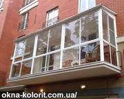 Изготовление и монтаж окон,  балконов,  дверей из немецких ПВХ профилей