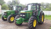 Трактор John Deere 6800. Год выпуска - 1998 г. Наработка - 9200 м.ч
