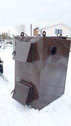 Пиролизный котел воздушного отопления мощностью 50 кВт от производител