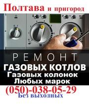 Ремонт газового котла, колонки, Полтава, (099)702-18-84, недорого.гарантия