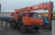 Продаем автокран КТА-25 Силач,  25 тонн,  КАМАЗ 55111,  2006 г.в.